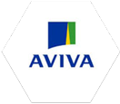 Cloud Hosting Aviva Logo