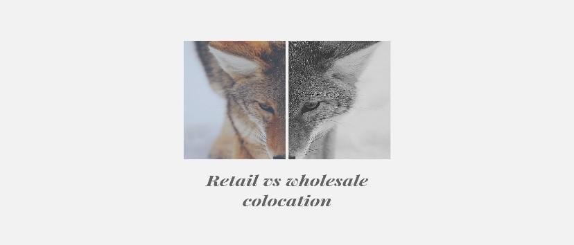 retail vs wholesale colocation